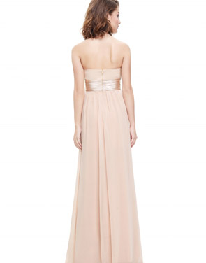photo Elegant Strapless Maxi Prom Evening Party Dress by OASAP - Image 10