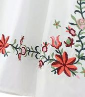 photo Embroidery Floral Loose Dress by OASAP - Image 9