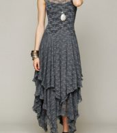 photo Fashion Crochet Lace Asymmetrical Dress by OASAP - Image 9