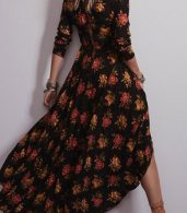 photo Fashion Floral Printing Maxi Dress by OASAP - Image 2