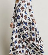 photo Fashion Floral Printing Maxi Dress by OASAP - Image 3