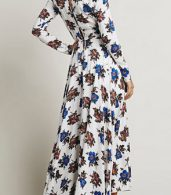 photo Fashion Floral Printing Maxi Dress by OASAP - Image 4