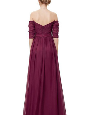 photo Off Shoulder Evening Gown with Sweetheart Neckline by OASAP - Image 2