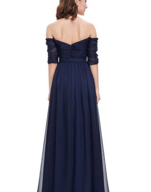 photo Off Shoulder Evening Gown with Sweetheart Neckline by OASAP - Image 16