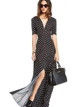 photo Polka dot dress by OASAP, color Multi - Image 1