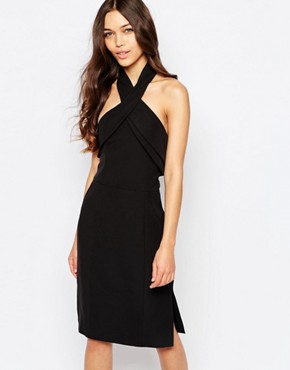 photo Wrong Direction Dress by Finders Keepers, color Black - Image 1