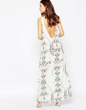 photo Market Maxi Dress in Trance Print by Flynn Skye, color Trance - Image 2