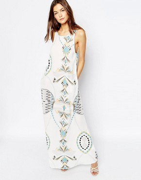 photo Market Maxi Dress in Trance Print by Flynn Skye, color Trance - Image 1