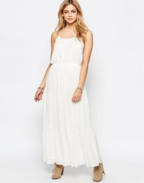 photo Lace Maxi Dress by Hazel, color White - Image 1
