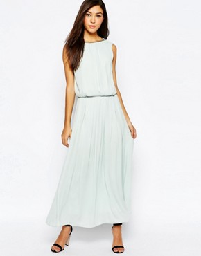 photo Maxi Dress with Chain Back by Jovonna, color Mint - Image 2