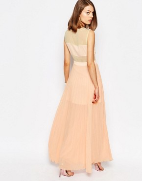 photo Neon Town Maxi Dress by Jovonna, color Pink - Image 2