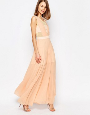 photo Neon Town Maxi Dress by Jovonna, color Pink - Image 1
