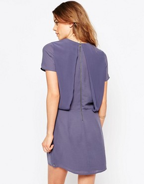 photo Purple Twofer Dress by Maison Scotch, color Purple - Image 2