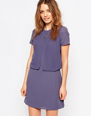 photo Purple Twofer Dress by Maison Scotch, color Purple - Image 1