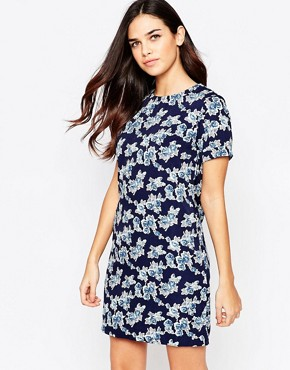 photo Zaria Rose Dress by Poppy Lux, color Navy - Image 1