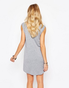 photo Rock & Religion Laser Cut Dress with Side Vents, color Grey Marl - Image 2