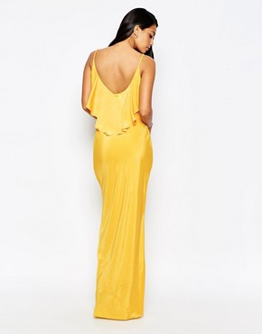 photo Covent Maxi Dress by VLabel London, color Yellow - Image 2