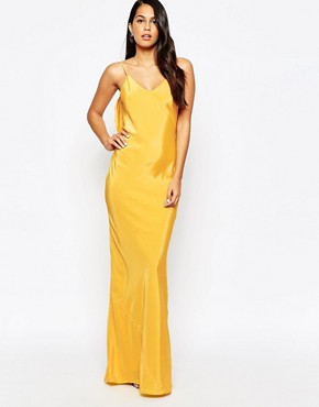photo Covent Maxi Dress by VLabel London, color Yellow - Image 1