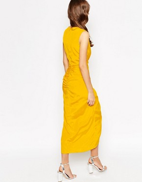 photo Morden Maxi Dress by VLabel London, color Yellow - Image 2