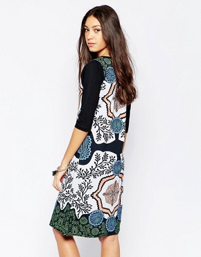 photo Treasure Box Swing Dress by Your Eyes Lie, color Multi - Image 2