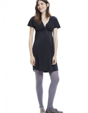 photo The Twist Dress by Hatch Collection, color Charcoal - Image 1
