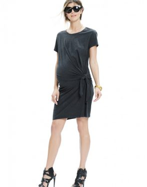 photo The Talia Dress by Hatch Collection, color Charcoal - Image 2