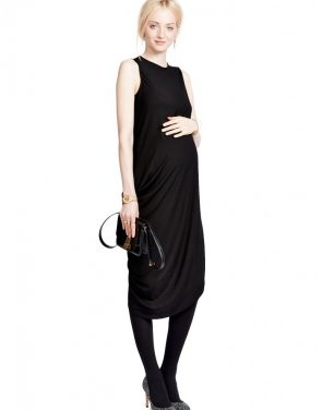 photo The Highline Dress by Hatch Collection, color Black - Image 2