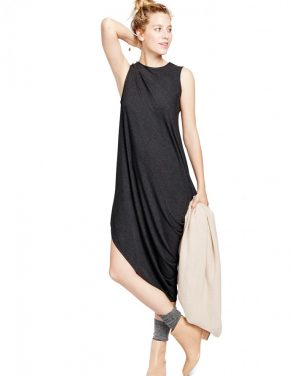 photo The Highline Dress by Hatch Collection, color Charcoal - Image 1