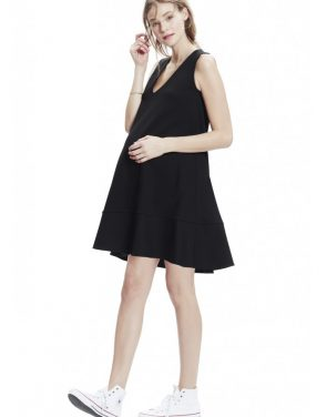 photo The Luncheon Dress by Hatch Collection, color Black - Image 1