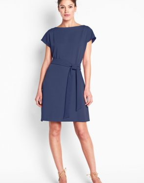 photo Riverside Dress - Navy, color Navy - Image 1