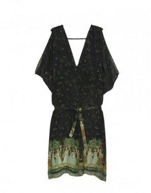 photo Lupita Dress by Figue, Multi/Green color - Image 1