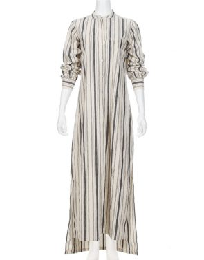 photo Tangier Galabia Dress by Nili Lotan, Stripe color - Image 1