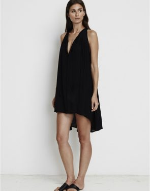 photo Coco Hi-Low Tunic Dress by Faithfull The Brand FF721S16, Black color - Image 1