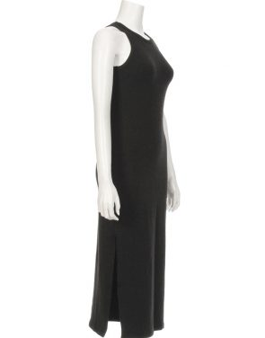 photo Dominique Midi Dress by Saint Grace FJMO007S16, Black color - Image 2