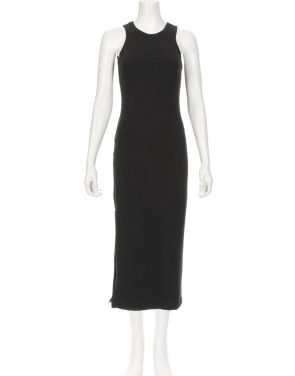 photo Dominique Midi Dress by Saint Grace FJMO007S16, Black color - Image 1