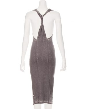 photo Darby Twist Back Maxi Dress by Nytt NYD3055S16, Grey color - Image 2