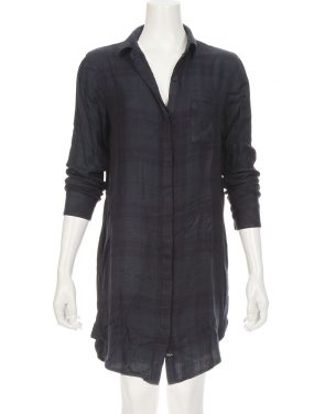 photo Sawyer Shirtdress by Rails RWSP165602S16, Navy/Midnight color - Image 1