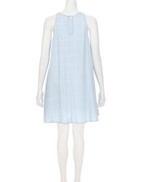 photo Anya Shift Dress by Rails RWSP167311S16, Light Blue Vintage Grid color - Image 2