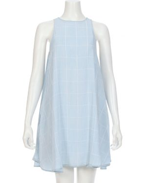 photo Anya Shift Dress by Rails RWSP167311S16, Light Blue Vintage Grid color - Image 1