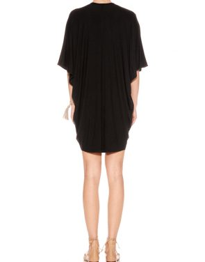photo Lola Mini Kaftan by Riller & Fount SM16LOTUCON, Black color - Image 2
