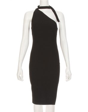 photo Solly Neck Strap Dress by Iro x Anja Rubik SOLLYF16, Black color - Image 2
