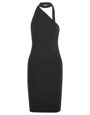 photo Solly Neck Strap Dress by Iro x Anja Rubik SOLLYF16, Black color - Image 1