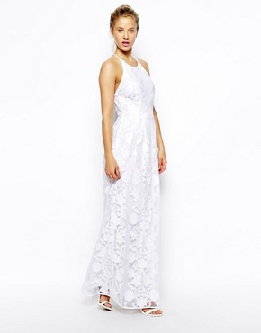 photo Maxi Dress by ASOS PREMIUM, color Ivory - Image 1