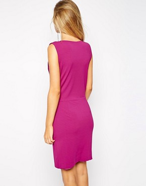 photo Dasha Dress with Drape Front by Supertrash, color Purple - Image 2