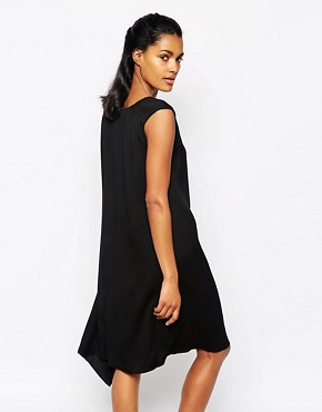 photo Black Dress in Crepe by Paul by Paul Smith, color Black - Image 2