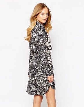 photo Dounia Dress in Bird Print by Supertrash, color Bird Print - Image 2