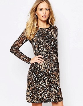 photo Danielle Dress in Leopard by Supertrash, color Leopard - Image 1