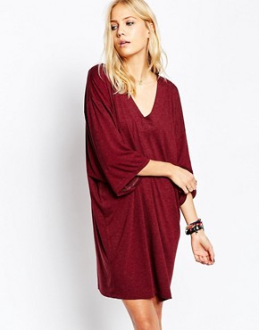 photo Ironic Dress in Aubergine by Just Female, color Aubergine - Image 1