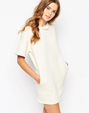 photo Debby Sweat Dress by Vanessa Bruno Athe, color Ivory - Image 1