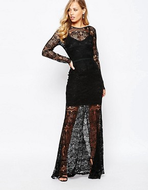 photo Jade Maxi Dress in Black by Body Frock, color Black - Image 1